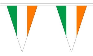 Ireland Bunting, triangular, 20 metre